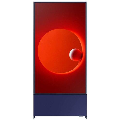 Фото - Телевизор QLED Samsung The Sero QE43LS05TAU 43 (2020), темно-синий телевизор samsung the sero tv 2020 qe43ls05tauxru