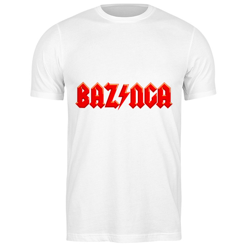 printio bazinga базинга Футболка классическая Bazinga! (Базинга) #1974319 (цвет: БЕЛЫЙ, пол: МУЖ, качество: ЭКОНОМ, размер: 3XL)