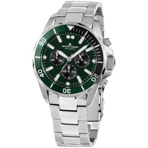 Фото - Наручные часы JACQUES LEMANS 1-2091H наручные часы jacques lemans 1 2094d