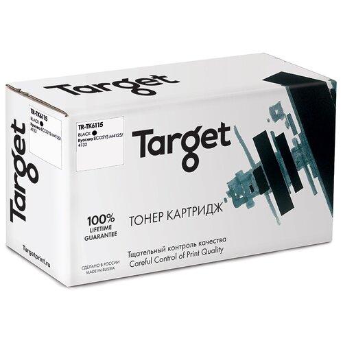 Фото - Тонер-картридж Target TK6115, черный, для лазерного принтера, совместимый картридж target fx3 черный для лазерного принтера совместимый