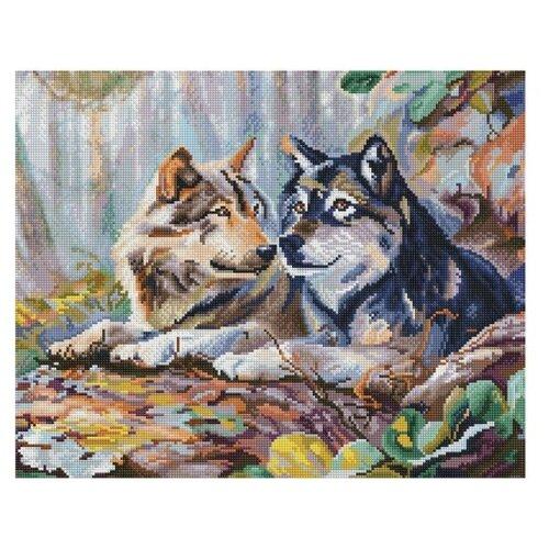 Мозаичная картина Пара