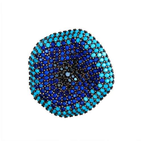 Эстет Подвеска с фианитами из серебра 01П2511384Ч-2