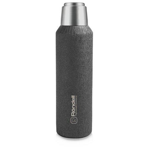 Классический термос Rondell Jacquard RDS-1195, 1 л серый