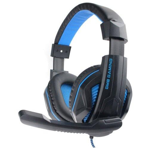 Компьютерная гарнитура Gembird MHS-G215 черный/синий