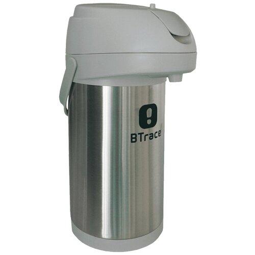 Помповый термос Btrace 805-3500, 3.5 л серебристый