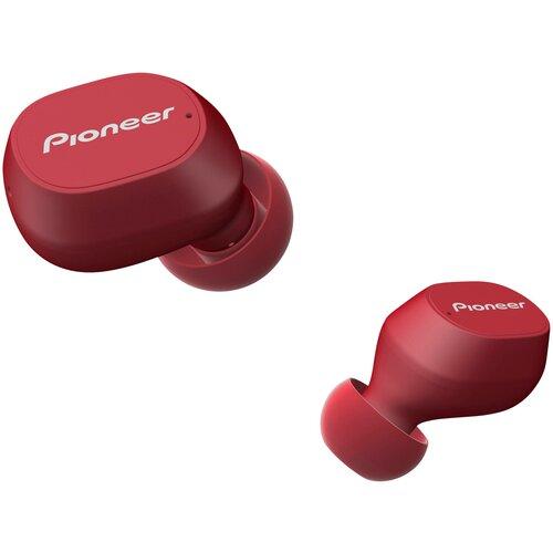 Беспроводные наушники Pioneer SE-C5TW, red беспроводные наушники pioneer se c5tw white