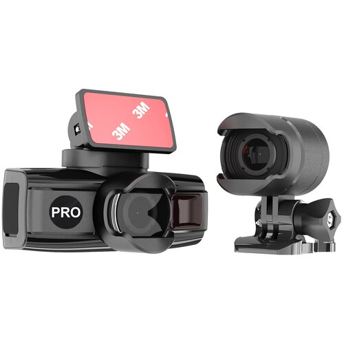 Видеорегистратор DATAKAM DUO PRO, 2 камеры, GPS, ГЛОНАСС, черный
