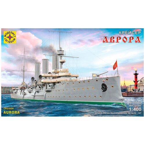Сборная модель Моделист Крейсер Аврора (140002) 1:400