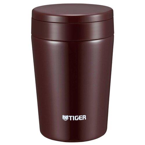 Термос для еды TIGER MCL-A038, 0.38 л chocolate brown