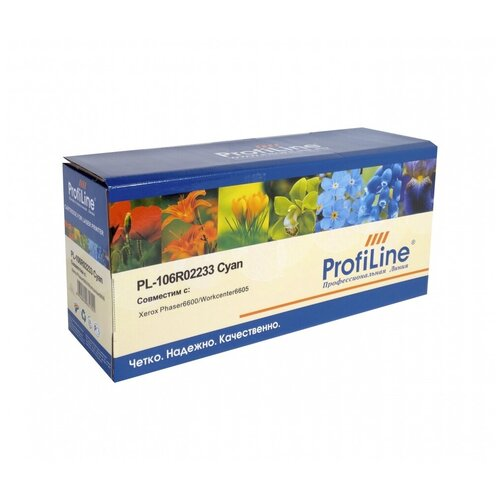 Фото - Картридж ProfiLine PL-106R02233-C, совместимый картридж profiline pl ce741a c совместимый