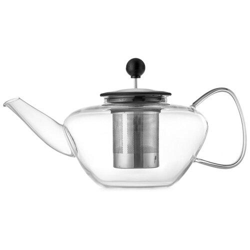 WALMER Заварочный чайник Lord 1.3 л, прозрачный