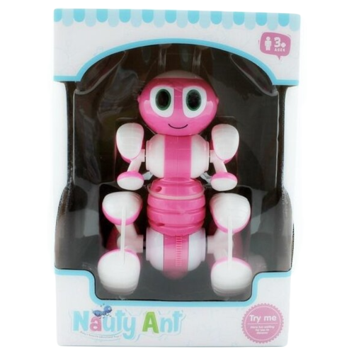 Купить Робот-трансформер BRAINPOWER Nauty ant робот-муравей розовый, Роботы и трансформеры