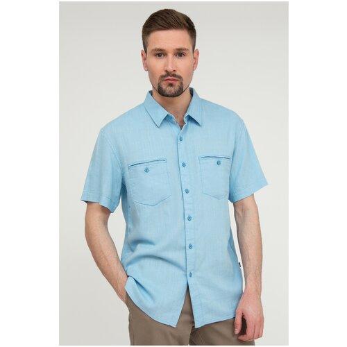 Рубашка FiNN FLARE размер XL серо-голубой (112)