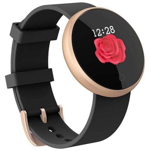 Умные часы SKMEI B36, черный/золотистый