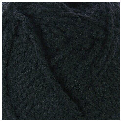 Купить Пряжа Пехорка Смесовая , 200 метров, 5 мотков по 200 грамм, цвет: 02 черный