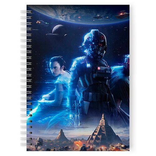 Купить Тетрадь 48 листов в клетку Star wars, Drabs, Тетради