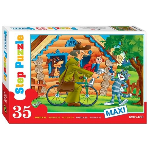 Пазл Step puzzle Союзмультфильм Простоквашино (91307), 35 дет.
