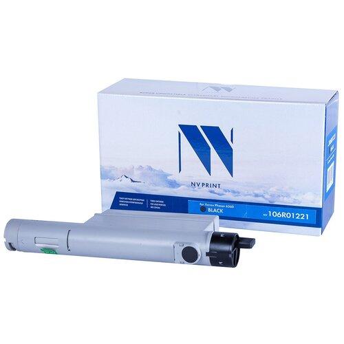 Фото - Картридж NV Print 06R01221 Black для Xerox, совместимый картридж nv print 106r01401 для xerox совместимый