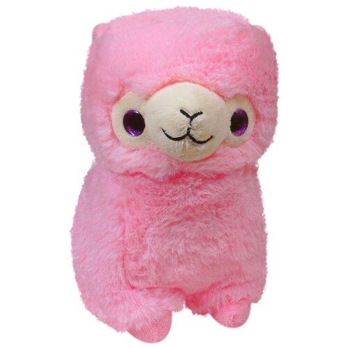 Мягкая игрушка Keel Toys Лама розовая 22 см