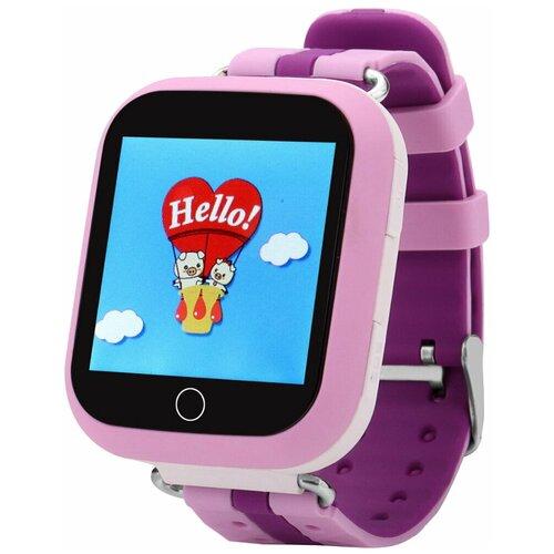Детские умные часы Smart Baby Watch Q100 / GW200S, розовый детские умные часы smart baby watch q100 gw200s желтый