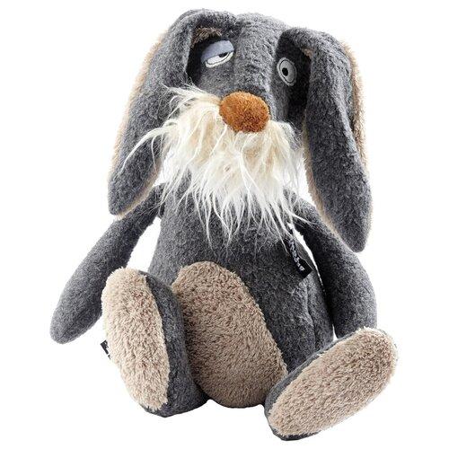 Мягкая игрушка SigKid Серый заяц 35 см