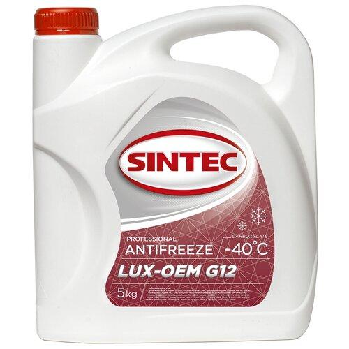 Антифриз SINTEC LUX G12 -40 5 кг