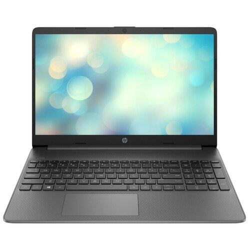 """Ноутбук HP 15-dw1 (/15.6"""") (/15.6"""")058ur (Intel Pentium 6405U 2400MHz/15.6""""/1366x768/4GB/128GB SSD/Intel UHD Graphics/DOS) 22N57EA грифельно-серый"""