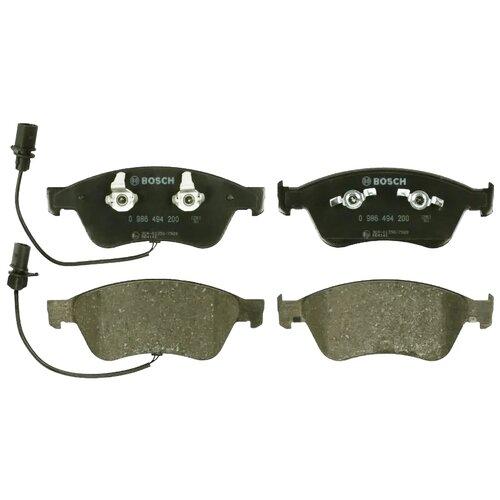 Фото - Дисковые тормозные колодки передние Bosch 0986494200 для Audi A8, Audi A6, Audi S6, Volkswagen Phaeton (4 шт.) дисковые тормозные колодки передние ferodo fdb1832 для audi a6 audi a8 volkswagen phaeton 4 шт