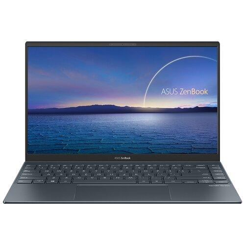 "Ноутбук ASUS Zenbook 14 UX425EA-BM201 (Intel Core i5 1135G7 2400MHz/14""/1920x1080/8GB/256GB SSD/Intel Iris Xe Graphics/Без ОС) 90NB0SM1-M07290 серый"