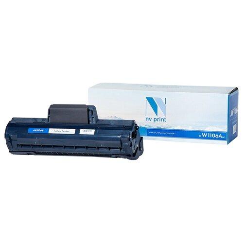 Фото - Картридж NV Print W1106ANC для HP, совместимый картридж nv print cf237x для hp совместимый