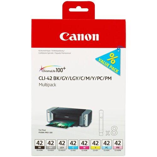 Фото - Набор картриджей Canon CLI-42 Multipack (6384B010) набор картриджей canon pg 40 cl 41 multipack 0615b043