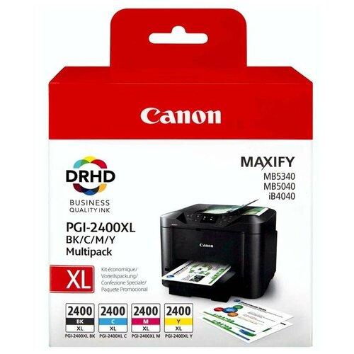 Фото - Набор картриджей Canon PGI-2400 BK/C/M/Y XL Multipack (9257B004) набор картриджей canon pg 40 cl 41 multipack 0615b043