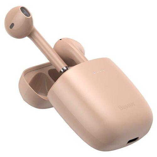 Беспроводные наушники Baseus W04 Pro, pink наушники baseus encok true w04 pro pink ngw04p 04