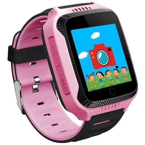 Детские умные часы Smart Baby Watch Q528, розовый детские умные часы c gps smart baby watch q528 желтый