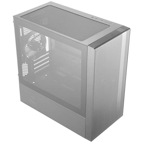 Компьютерный корпус Cooler Master MasterBox NR400 (MCB-NR400-KGNN-S00) w/o PSU Black компьютерный корпус cooler master masterbox k501l rgb mcb k501l kgnn sr1 w o psu black