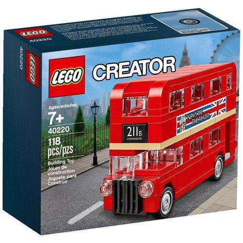 Купить Конструктор LEGO Creator 40220 Лондонский автобус, Конструкторы