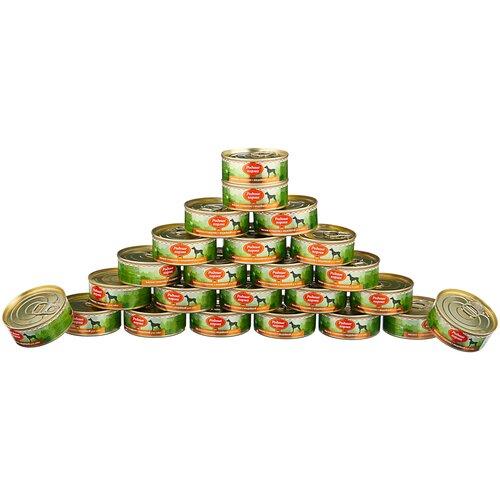 Влажный корм для собак Родные корма беззерновой, индейка 24 шт. х 100 г