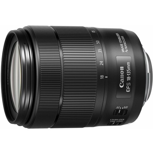 Объектив Canon EF-S 18-135mm f/3.5-5.6 IS USM черный