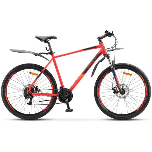 детский велосипед navigator basic вн20219 красный требует финальной сборки Горный (MTB) велосипед STELS Navigator 745 MD 27.5 V010 (2020) красный 19 (требует финальной сборки)