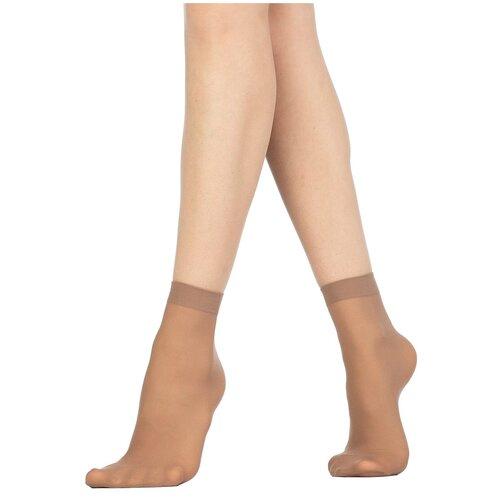 Капроновые носки Golden Lady Mio 40 Den, 2 пары, размер 0 (one size), daino