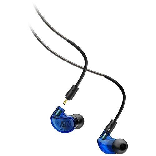 Фото - Наушники MEE audio M6 Pro 2, blue наушники mee audio mx3 pro clear