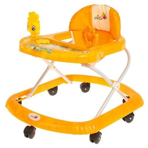 Купить Ходунки Alis Солнышко , звуковые эффекты, цвет оранжевый, Ходунки, прыгунки