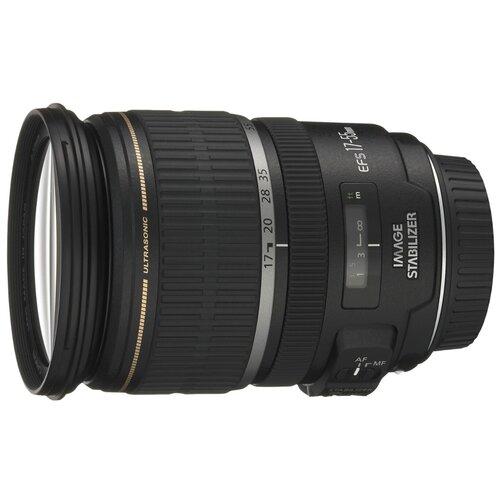 Объектив Canon EF-S 17-55mm f/2.8 IS USM черный