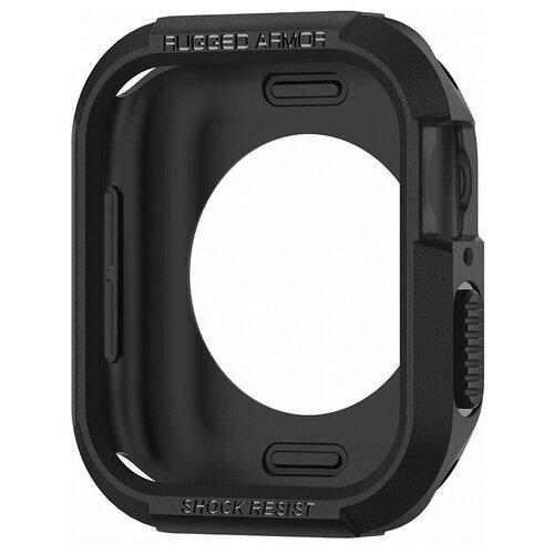 Чехол Spigen Rugged Armor для Apple Watch series 4 44 mm black