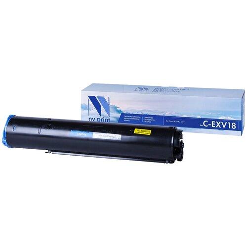 Фото - Картридж NV Print C-EXV18 для Canon, совместимый картридж nv print nv 054hm для canon совместимый