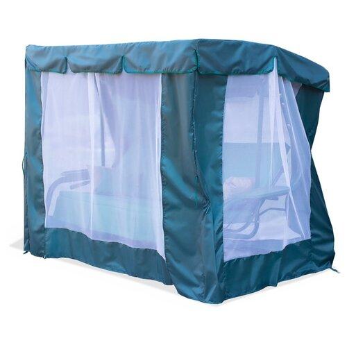 Тент-шатер Fler для качелей Торнадо+10 (238 х 145 х 170 см) зеленый