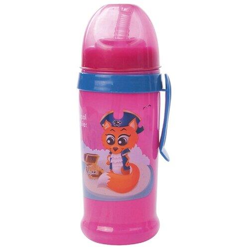 Фото - Поильник-непроливайка Canpol babies спортивный, с трубочкой и крышкой, 350 мл, 12+ месяцев, розовый (250930153) поильник непроливайка canpol babies 56 512 320 мл розовый