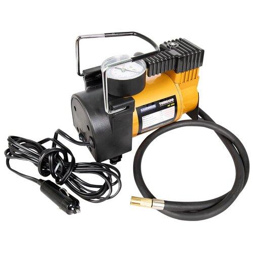 Автомобильный компрессор Luzwoo TORNADO 580 AC оранжевый/черный