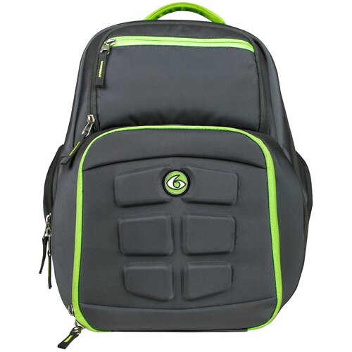 6 Pack Fitness Рюкзак Expedition Backpack 300 серый / зеленый 36 л