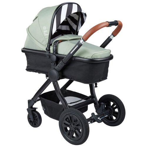Коляска-трансформер Happy Baby Mommer, green happy baby коляска трость happy baby twiggy green